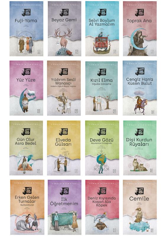 Cengiz Aytmatov Kitap Seti (16 Kitap)
