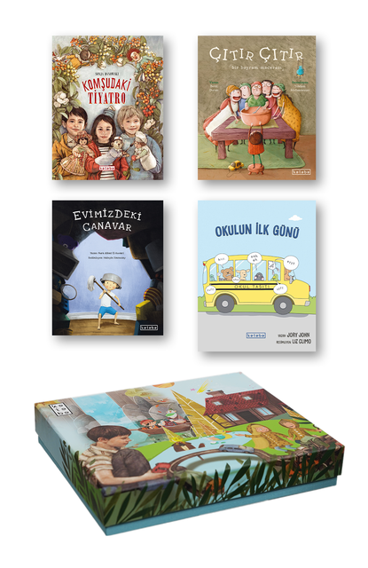 KETEBE ÇOCUK - Ketebe Çocuk Kutulu Kitap Seti 1