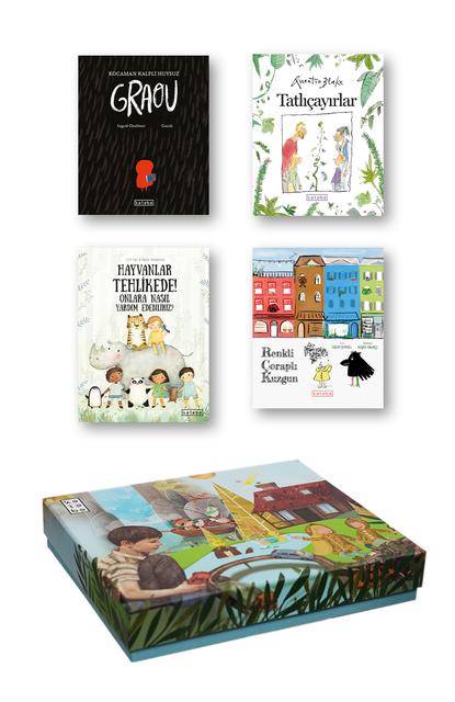 KETEBE ÇOCUK - Ketebe Çocuk Kutulu Kitap Seti 3