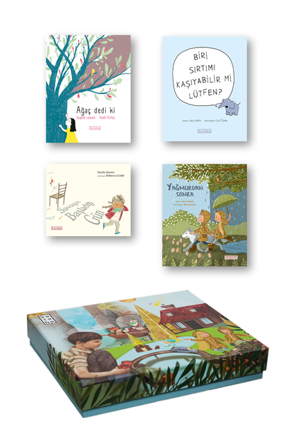 KETEBE ÇOCUK - Ketebe Çocuk Kutulu Kitap Seti 4