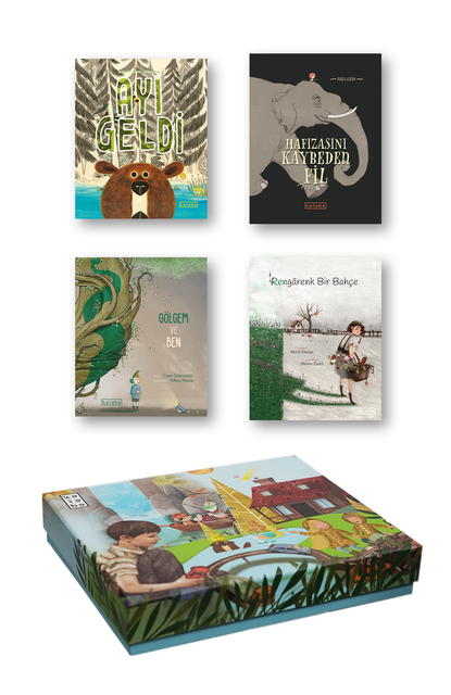 KETEBE ÇOCUK - Ketebe Çocuk Kutulu Kitap Seti 5