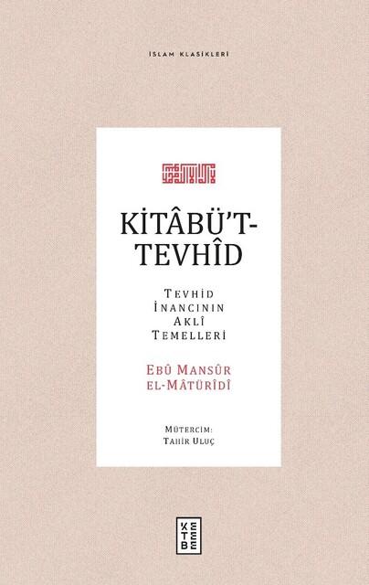 KETEBE - Kitabü't-Tevhid