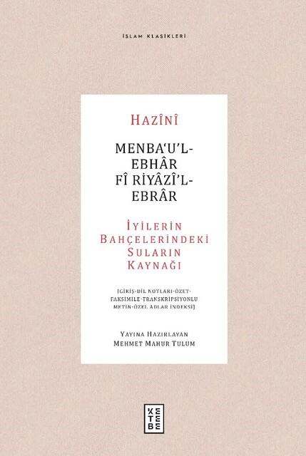 KETEBE - Menba'U'l-Ebhar Fi Riyazi'l-Ebrar
