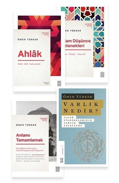 KETEBE - Ömer Türker Seti (Çanta Hediyeli 4 Kitap)